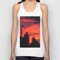 City Sunset Unisex Tank Top