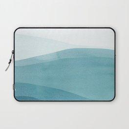 Watercolor Sea | Dip Dye Blues Laptop Sleeve