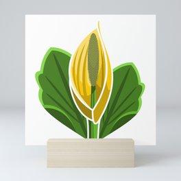 Yellow Skunk Cabbage Mini Art Print