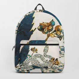 Summer Indigo Garden Backpack