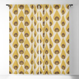 Retro Drops Blackout Curtain