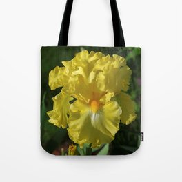 Golden Iris flower - 'Power of One' Tote Bag