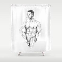 Mark - Nood Dood Shower Curtain