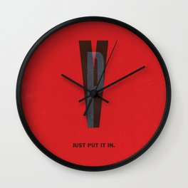 Typeporn Vol.2 Wall Clock