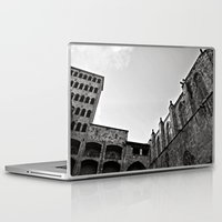 spain Laptop & iPad Skins featuring Spain  by Brooke Armstrong