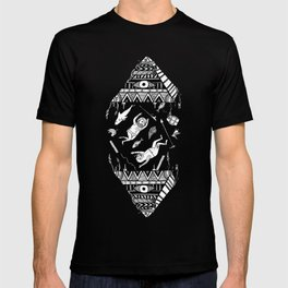 On how the mystical levitation of divers are induced by floating pyramids T-shirt