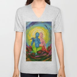 Music of love Unisex V-Neck
