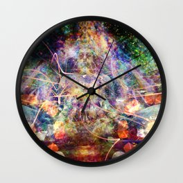 Mind Manifesting Wall Clock