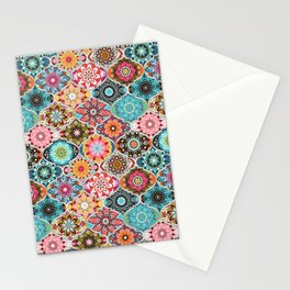 Bohemian summer Stationery Cards