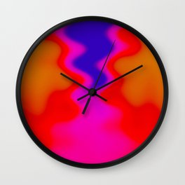Flow with me Wall Clock