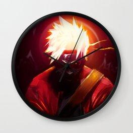 Fire Ninja Wall Clock