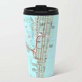 Seaside Park & NJ Shore Map (1989) Travel Mug