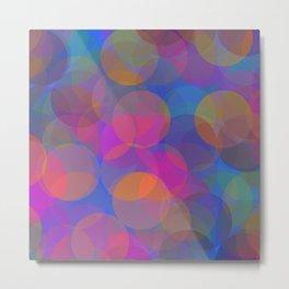 Springtime Bubbles Metal Print
