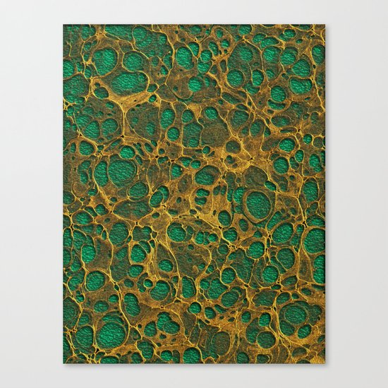 Golden Marble 04 Canvas Print