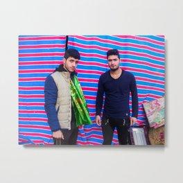 Visit from Baghdad to Karbala Metal Print