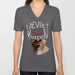 The Devil of Hell's Kitchen Unisex V-Neck