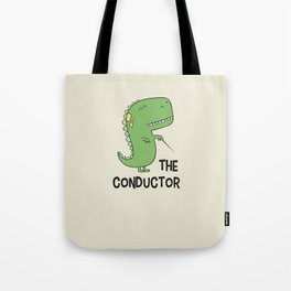 Dino The Conductor Tote Bag