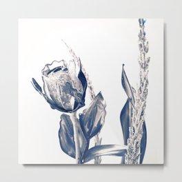 Glass rose Metal Print