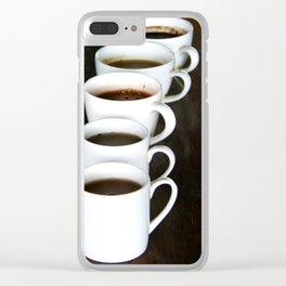 Bali - Coffee Plantation Tasting Clear iPhone Case