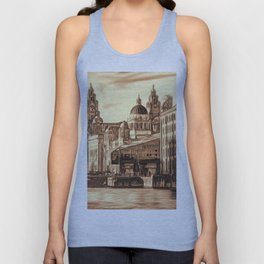 World famous Three Graces (Digital painting) Unisex Tank Top