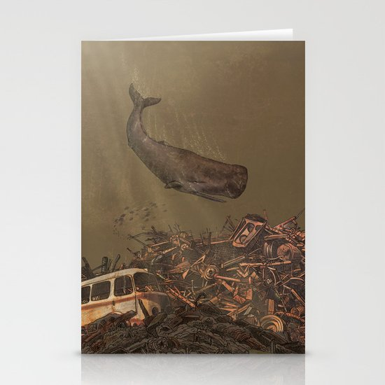 The Last Whale  Stationery Cards