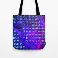 chuck Tote Bags featuring Chuck by Rabassa