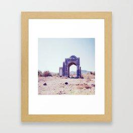 Gateway #3. Analog. Film photography Framed Art Print