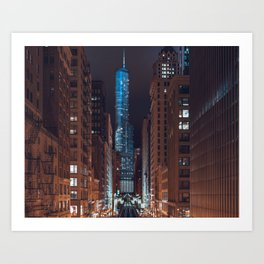 Skyscraper in Chicago Art Print