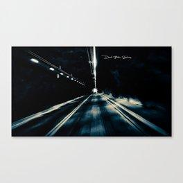 Tunnel Vision (Black &White) Canvas Print