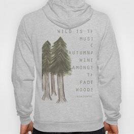 Wild is the Music Hoody