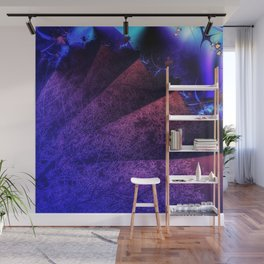 Pleated fantasy forest Wall Mural