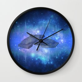10,000 light years from home 2 Wall Clock
