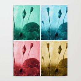 Poppy Art Image Poster
