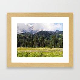 MAJESTIC MEADOW Framed Art Print