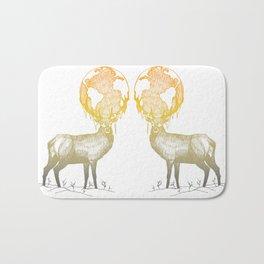 Deer God Bath Mat