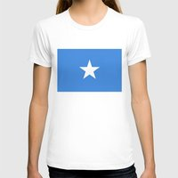 islam T-shirts featuring Somalian national flag - Authentic color and scale (high quality file) by Bruce Stanfield