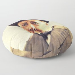 Winston Churchill, Prime Minister Floor Pillow