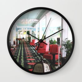 inside the Grand Hotel Wall Clock