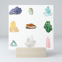 Gemstones Mini Art Print