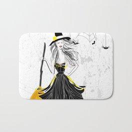 Fancy Witch Bath Mat