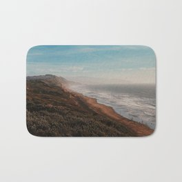 Fort Funston Park in San Francisco, California Bath Mat