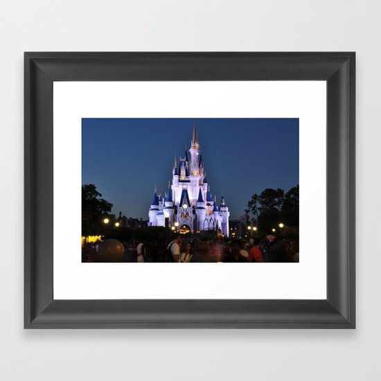 Cinderella's Castle II Framed Art Print