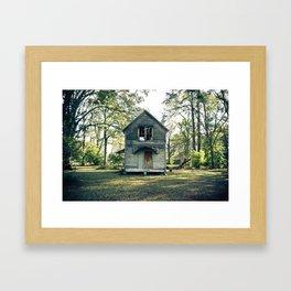 Jennings, Louisiana Framed Art Print