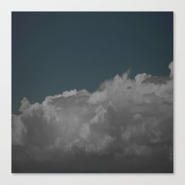 Cloudy blue Canvas Print