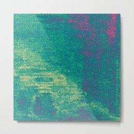21-74-16 (Aquatic Glitch) Metal Print