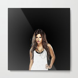 Ashley Tisdale - Celebrity Art Metal Print