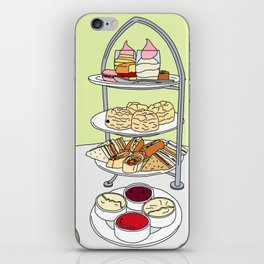 English Afternoon Tea iPhone Skin