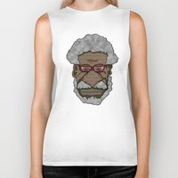 saxophone Biker Tanks featuring Sonny Rollins Saxophone Colossus  by Adam Metzner