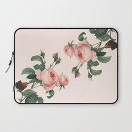 Butterflies in the Rose Garden Laptop Sleeve