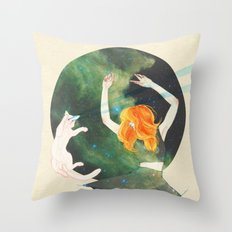 Cosmic Throw Pillow
